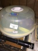 An Avent steriliser kit Live bidding available via our website, if you require P&P please read