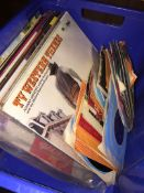 A crate of LPs and singles Live bidding available via our website, if you require P&P please read