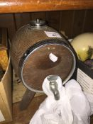 A miniature beer keg / cherry cask. Live bidding available via our website, if you require P&P
