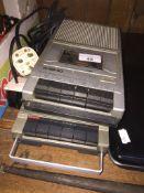 A Kisho & Ferguson vintage cassette recorders. Live bidding available via our website, if you