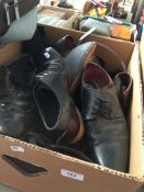 A box of shoes.
