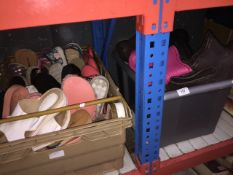 2 boxes of shoes