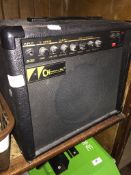 A Charvel CH-200 guitar amp