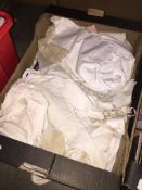A box of childrens vintage clothing