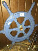 A ships wheel