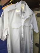 2 gents shirts for Air Force training, size 40