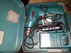 A Makita power cordless drill - AS FOUND (not charging)