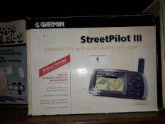 A Garmin Street Pilot 3