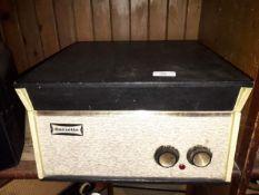 A Dansette record player