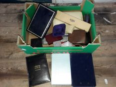A box of jewellery boxes.