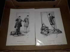 Two limited edition Laurel & Hardy prints.