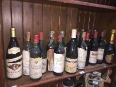 22 bottles of wine