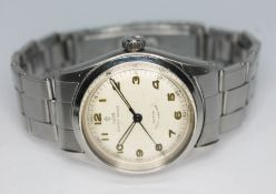 A stainless steel Rolex Tudor Oyster Prince self winding wristwatch ref. 7909 circa 1957, with