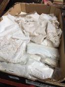 A box of linen and lace