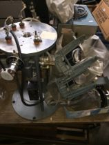 6 Bausch and Lomb vintage microscopes.