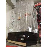 A pet cage
