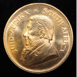 South Africa, 1980 Krugerrand, 1 oz. fine gold (91.67%) ONLY 10% BUYER'S PREMIUM (INCLUSIVE OF