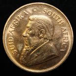South Africa, 1981 Krugerrand, 1 oz. fine gold (91.67%) ONLY 10% BUYER'S PREMIUM (INCLUSIVE OF