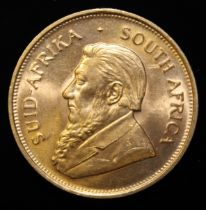 South Africa, 1973 Krugerrand, 1 oz. fine gold (91.67%) ONLY 10% BUYER'S PREMIUM (INCLUSIVE OF