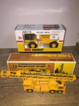 A Ingersoll-Rand T-4W drillmaster model in box and a Joal Compact JCB712 model in box
