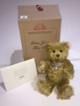 A Steiff Club Limited Edition bear - Golden Jubilee Teddy Bear, 35 cm. Produced exclusively for