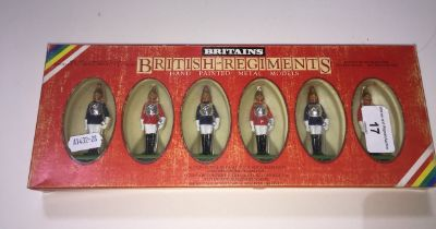 Six Brittain's models No.7227 lifeguards/horseguards
