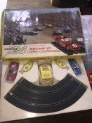 Meccano Circuit 24 Le Mans Miniature Scalextric type racing game.