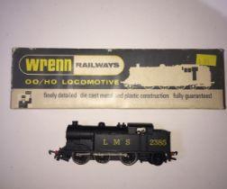 A Wrenn W2215 0-6-2 tank loco black L.M.S, boxed