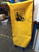 Evac + chair evacuation wheelchair.