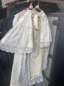 Edwardian christening cape