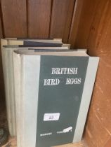 'A Natural History of the Nests and Eggs of British Birds', three volumes, by the Rev. F. O. Morris,