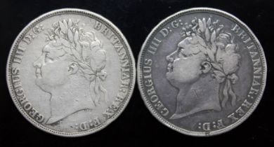 George IV (1820-1830), two crowns, 1822, tertio.