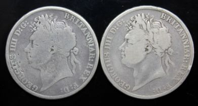 George IV (1820-1830), two crowns, 1821, secundo.