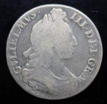 William III (1694-1702), crown, 1696, octavo.