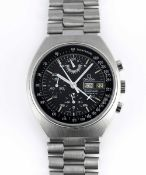 A GENTLEMAN'S STAINLESS STEEL OMEGA SPEEDMASTER PROFESSIONAL MARK 4.5 CHRONOGRAPH BRACELET WATCH