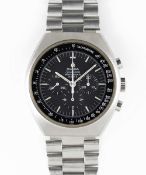 A GENTLEMAN'S STAINLESS STEEL OMEGA SPEEDMASTER PROFESSIONAL MARK II CHRONOGRAPH BRACELET WATCH