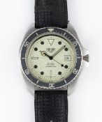 A GENTLEMAN'S STAINLESS STEEL HEUER PROFESSIONAL 200 METERS QUARTZ DIVERS WRIST WATCH CIRCA 1980s,