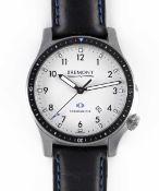 A GENTLEMAN'S STAINLESS STEEL BREMONT BOEING MODEL 1 AUTOMATIC CHRONOMETER WRIST WATCH DATED 2015,