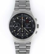 A GENTLEMAN'S STAINLESS STEEL ORFINA PORSCHE DESIGN MILITARY CHRONOGRAPH BRACELET WATCH CIRCA 1980s,