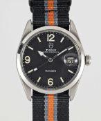 A GENTLEMAN'S STAINLESS STEEL ROLEX TUDOR PRINCE OYSTERDATE RANGER WRIST WATCH CIRCA 1967, REF.