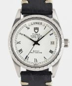 A GENTLEMAN'S STAINLESS STEEL ROLEX TUDOR OYSTER PRINCE DATE + DAY WRIST WATCH CIRCA 1980s, REF.