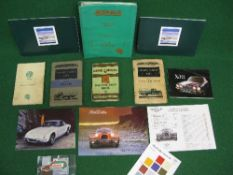 Two 1935 Morris Commercial spare parts lists for CS2/13/80, C11/30, C11,40 and C13.40 together
