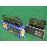 1956-1958 Hornby Dublo 3 Rail EDL11 A4 4-6-2 No. 60016 Silver King locomotive and tender in matt