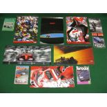 Large colour calendars for: Formula 1 in 2000 and 2002 together with Motorcycle Racing in 1995,