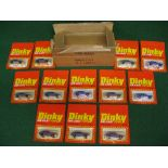 1980 Airfix made Dinky Trade Box containing twelve Honda Accords in their No. 104 blister packs