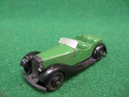 Late 1940's Dinky 36F British Salmson four seat sports car (no driver version) Please note