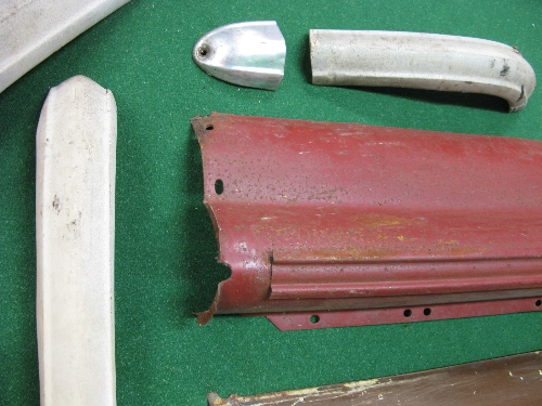 Quantity of body parts for a Triumph Herald or Vitesse to comprise: two rear valances, one rear - Image 2 of 2