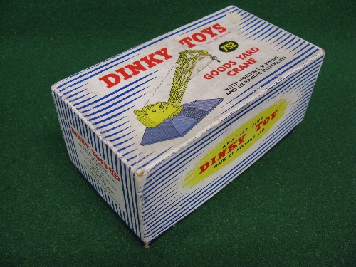 Dinky 752 Goods Yard Crane, boxed with internal packing Please note descriptions are not condition - Image 2 of 2