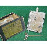 "Pre WW1 large Meccano No. 2 clockwork motor Made in Wurtemberg by Marklin - 6.5"" x 5"", detached"