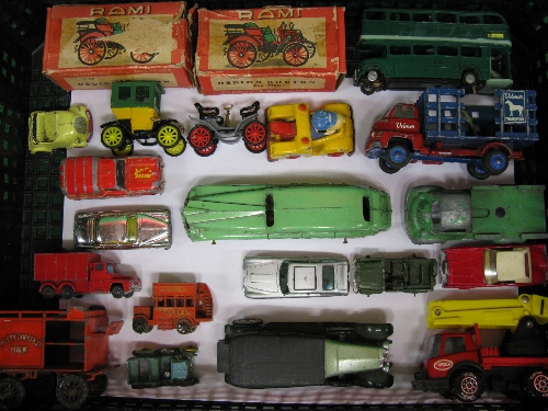 Mixed lot of approx nineteen toy vehicles by Rami, Minic, Vilmer (Denmark), Solido, Tonka, - Image 2 of 2